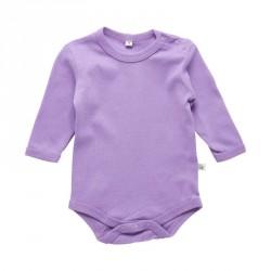 Body fra Pippi m. lange ærmer - Lavendel