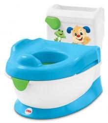 Børnetoilet fra Fisher-Price - Interaktiv m. skyllelyd - Puppy Potty
