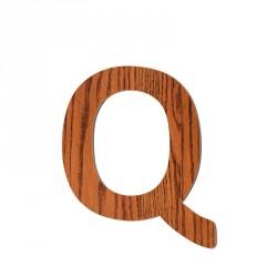 Bogstav, Q fra Sebra - træ