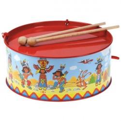 BOLZ Indianer Tromme til børn