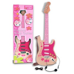 Bontempi elektrisk guitar - Pink