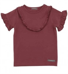 Bordeaux Tilda T-shirt Fra Loudly