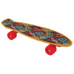 Bored Neon X - Aztec Skateboard til Børn