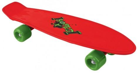 Bored Neon X Skateboard - Rød
