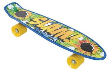 Bored Neon X - Slam Skateboard til Børn