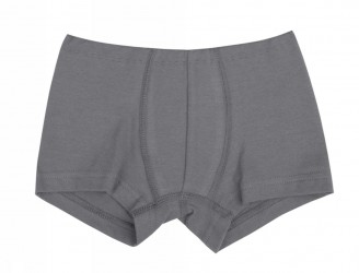 Boxershorts i grå uld-silke