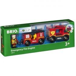 Brandbil - 33811 - BRIO Tog-tilbehør