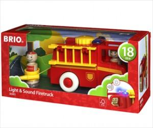 Brandbil med lys/lyd - 30383 - BRIO Toddler