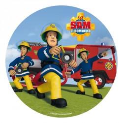 Brandman Sam kageprint