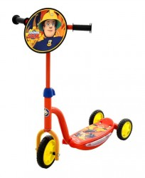 Brandman Sam trehjulet løbehjul med lys og lyd