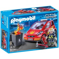 Brandmand med bil - PL9235 - PLAYMOBIL City Action