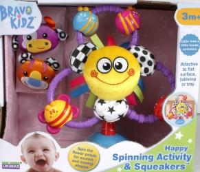 Bravo Kidz Happy Aktivitetslegetøj (fra 3 mdr)