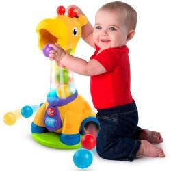 Bright Starts aktivitetslegetøj - Giraf