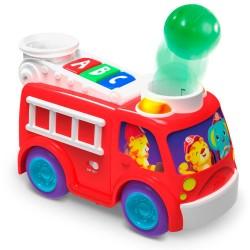 Bright Starts puttekasse - Roll & Pop Fire Truck