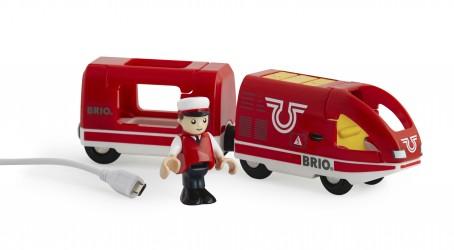BRIO Genopladeligt tog, via USB Legetøj