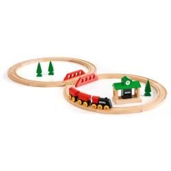 BRIO togbanesæt - 8-tals bane