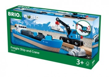 BRIO World - Containerskib - 33534
