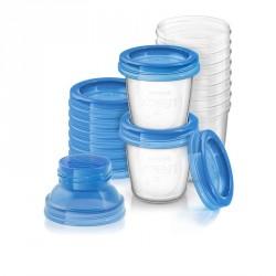 Brystmælk beholdere fra Philips AVENT (10x180ml)