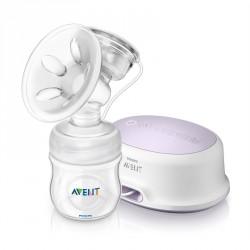 Brystpumpe - Philips Avent NATURAL elektrisk m. 125 ml sutteflaske