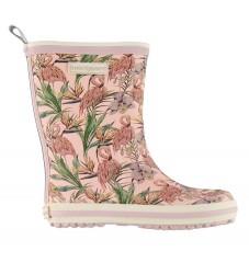 Bundgaard Gummistøvler - Classic - Rosa m. Flamingo