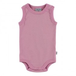 By Fuzzies Sleeveless Body - Old Rose