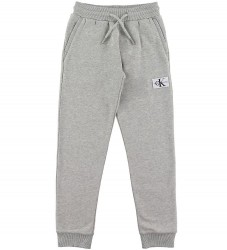 Calvin Klein Sweatpants - Monogram Sweatpants - Gråmeleret