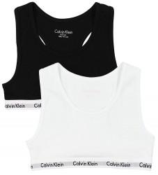 Calvin Klein Toppe - 2-pak - Sort/Hvid