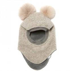 Camel/camel fur tassel - Elefanthue Racer 35 fra Huttelihut