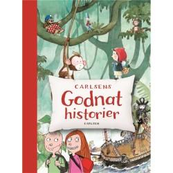 Carlsens godnathistorier - med læsebånd - Indbundet