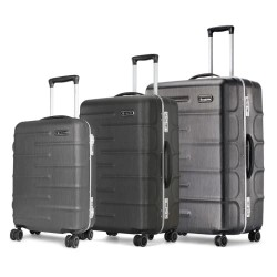 Carlton kuffertsæt - Knox - Grå