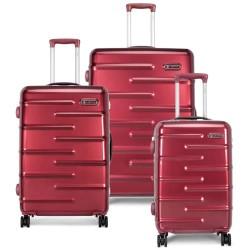 Carlton kuffertsæt - Knox - Rød