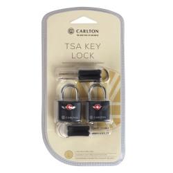 Carlton TSA-lås med nøgle