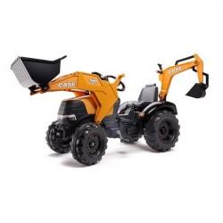 CASE IH 580 Super N Traktor m/Frontskovl + Gravekran