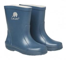 CeLaVi smalle gummistøvle, petroleums-blå