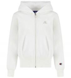 Champion Hættetrøje - Hvid m. Logo