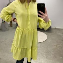 Charlock Yellow Marranie Dress 46477265 fra mbyM