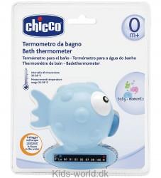 Chicco Badetermometer - Blå Fisk