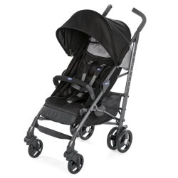 Chicco paraplyklapvogn - Lite Way3 - Sort