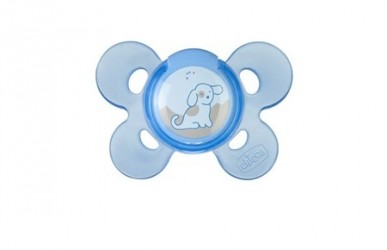 Chicco Physio Comfort Soother 0-6m Silikone Sut - Blå