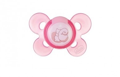 Chicco Physio Comfort Soother 0-6m Silikone Sut - Pink