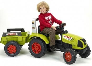 Claas Arion Pedal-Traktor m/anhænger