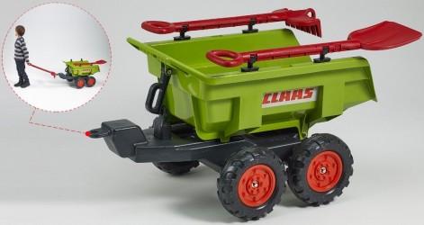 Claas Trailer Twin Axle Dump m/Rive og Skovl