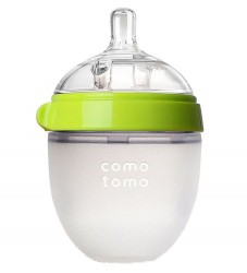 Comotomo Sutteflaske - 150ml - Natural Feel - Grøn