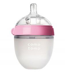 Comotomo Sutteflaske - 150ml - Natural Feel - Rosa