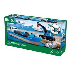Containerskib - 33534 - BRIO Tog