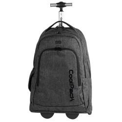 CoolPack trolley-skoletaske - Summit Snow Black