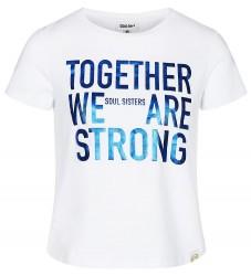 Cost:Bart T-shirt - Elka - Hvid m. Tekst