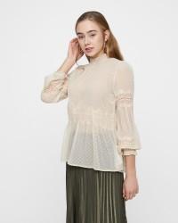 Cream Scarlett bluse