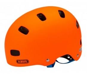 Cykelhjelm Abus Scraper Kid V.2 Str. 51-55 cm signal orange