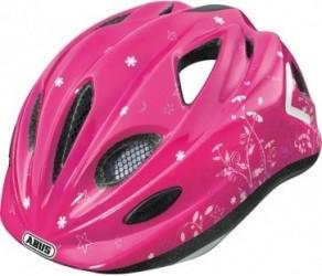 Cykelhjelm Abus Super Chilly Garden Pink 52-57 cm